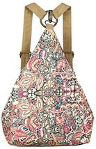 Black Butterfly Original Women's Bohemia National Style Canvas Backpack... - $52.94
