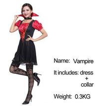 Adult Vampire Bride Dress Costume image 2