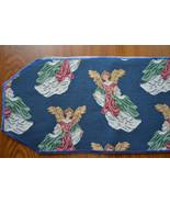 Angel Tablerunner, Angel Table Runner, dresser scarf, tapestry mantel sc... - $25.00