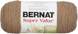 Bernat Super Value Solid Yarn-Honey - $9.73