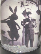 Harvey Snow Globe Jimmy Stewart Elwood P Dowd Invisible  Rabbit Pooka 1950 - $19.99