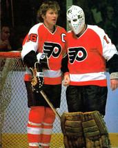 Bernie Parent & Bobby Clarke 8X10 Photo Hockey Philadelphia Flyers Nhl - $3.95