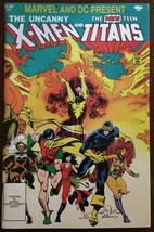 Marvel And DC Present The Uncanny X-Men And New Teen Titans #1 Comic Book VF - $9.99