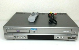 Samsung DVD-V2000 DVD/VCR VHS Combo Player Works w/ Remote & Cables - $93.49