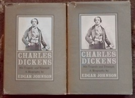 Charles Dickens His Tragedy and Triumph A Biography Edgar Johnson Volume... - $5.00