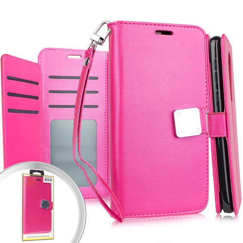 For LG Stylo 4 Deluxe Wallet w/ Blister Case and 50 similar