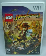 LEGO INDIANA JONES 2: The Adventure Continues NINTENDO WII Video Game CO... - $14.85