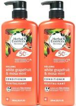 2 Herbal Essences Bio Renew 20.2oz Volume White Grapefruit Mosa Mint Conditioner - $29.99