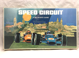 Speed Circuit 3M Racing Race Car Vintage Board Game CIB Complete Indy F1... - $22.28