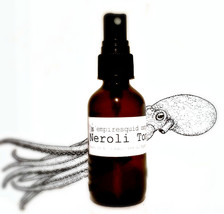 Neroli Water | Organic Facial Toner | Neroli Hydrosol | Orange Blossom Toner - $16.00+