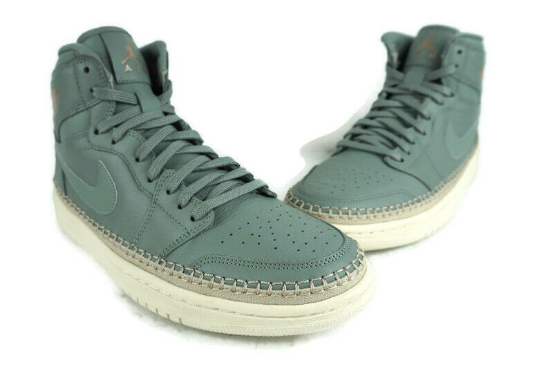 Primary image for Air Jordan 1 Retro High Tops Premium Green Women's AH7389-315 Size 10