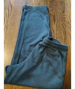 Tek Gear Men's size L Sweatpants gray color elastic tie waist pockets EUC - $18.49