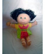 """14"""" Cabbage Patch Kids Talking Doll Artist Signed Black Hair - $14.99"""
