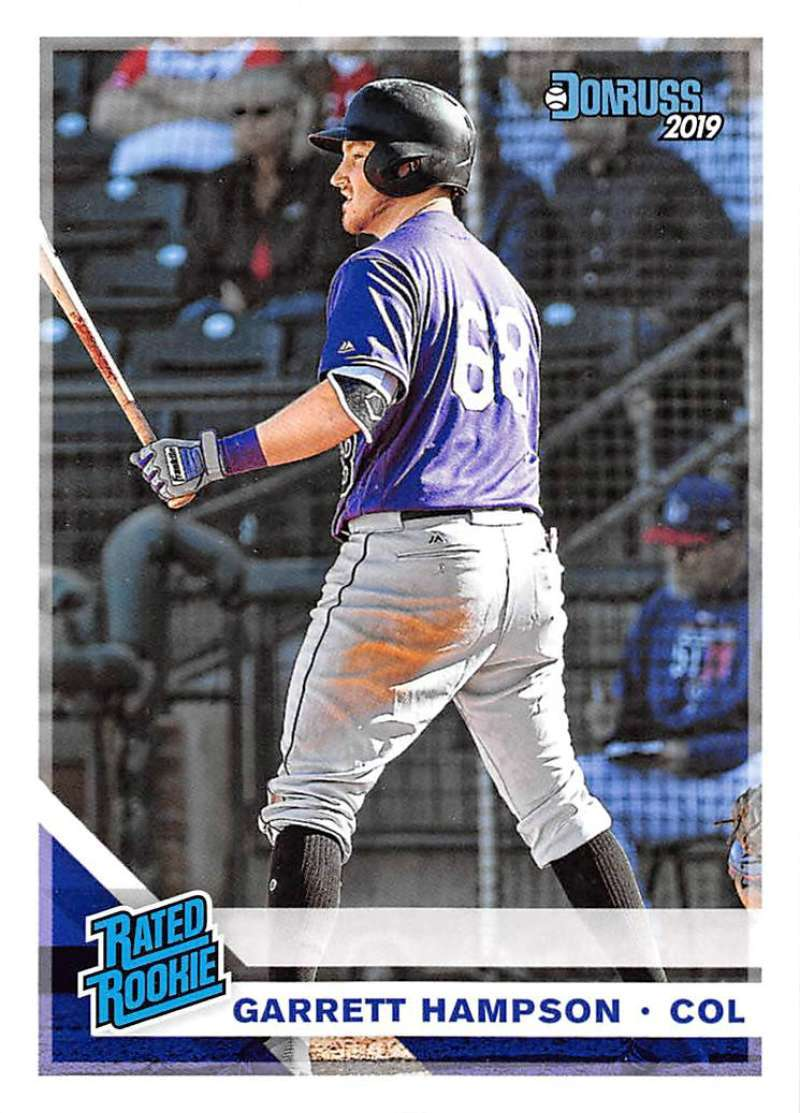 Primary image for 2019 Donruss #38 Garrett Hampson NM-MT Rockies Rated Rookie