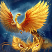 Glorious Golden Phoenix Queen of Rebirth & Success! Haunted Magick Paran... - $79.99