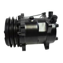 A-Team Performance Sanden 508 Style Black Clutch V-Belt A/C Compressor, Black image 2