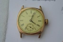Antique 1907 ?? A.W.W.Co Waltham Sub Dial Very Rare Mens Wrist Watch Runs - $112.16