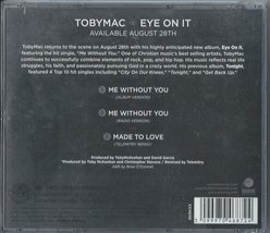 Me Without You by Tobymac Cd image 2