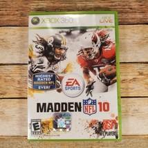 Madden NFL 10 (Microsoft Xbox 360, 2009) - $7.91