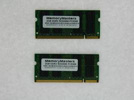4GB (2X2GB) DDR2 MEMORY RAM PC2-5300 SODIMM 200-PIN