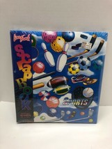 "Lisa Frank Sports Scrapbook Sealed 1988 100 Pages 50 Sheets 12"" Photo Album - $69.25"