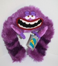 "Disney Store Monsters Inc ART 13"" Tall Purple Bendable Plush Soft Toy Mo... - $9.72"