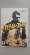 Driver San Francisco (Nintendo Wii, 2011) Complete Game Disc Case Manual - $8.75