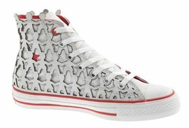CONVERSE PEOPLE 1HUND+ARTISTS AS CT HI MEN SHOES WHITE/RED A03487 SZ 11.... - $197.99