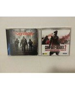 COMPANY OF HEROES 2 + THE DIVISION CDs: ORIGINAL GAME SOUNDTRACKS - RARE  - $28.05