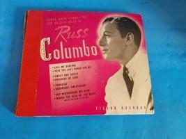 Russ Columbo 8 Record set 78 RCA VICTOR Label  - £28.42 GBP