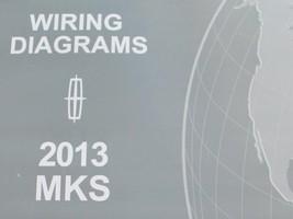 2013 Ford Lincoln MKS Elettrico Cablaggio Diagrammi Servizio Manuale Ewd - $13.88