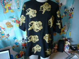 Vintage 90's Looney Tunes Taz All Over Print T Shirt 3XL  - $34.64