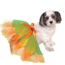 Pumpkin Dog Tutu Halloween Costume - $4.00