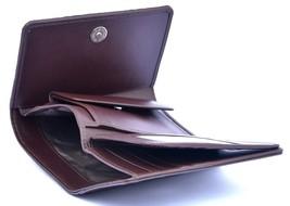 Pretty Nice Handmade Dark Brown Horn Back Genuine Crocodile Leather Men Wallet - $176.39