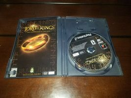 Lord of the Ring The Fellowship of the Ring Black Label PS2 EXMT **Inv03093** image 3