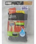 """Hanes Men's TAGLESS Briefs ComfortSoft Waistband 5-Pack 2XL 44-46"""" (Q) - $22.77"""