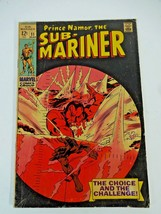 Marvel Comics Prince Namor, The Sub-Mariner #11 March 1969 Colan Art Silver Age - $11.29