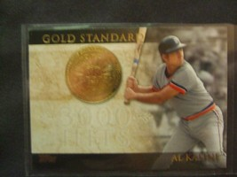 2012 Topps Gold Standard 3,000 Hits #GS12 Al Kaline -Detroit Tigers- - $3.12