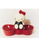 Hello Kitty Red Bow Adorable Resin Jewelry Tray, New - $22.88