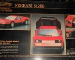 "1/24 Scale ""Tilt"" High Tech Car ""Ferrari 512BB"" Opened Box Complete Sealed Bags - £25.91 GBP"