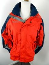 Boys 14-16 COLUMBIA Rugged Peak Winter Jacket Interchange 3 in 1 Fleece Zip - $17.50