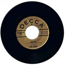Earl Grant Ebb Tide 45 rpm Record B Swingin' Gently Decca - $5.31