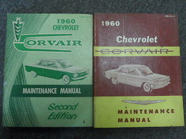 1960 Chevrolet CHEVY CORVAIR Maintenance Shop Manual Set FACTORY OEM BOO... - $42.43