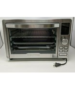 Gourmia Digital Stainless Steel Toaster Oven Air Fryer - Silver- 1700 wa... - $94.04