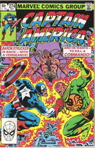 Captain America Comic Book #274 Marvel Comics 1982 VERY FINE - $2.99