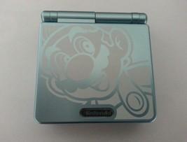 Nintendo Game Boy Advance SP Mario Pearl Blue Handheld System - $64.80