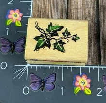 Stampendous Ivy Branch Vine Plant Rubber Stamp J070 Fun Stamps 1994 Wood #G145 - $7.42