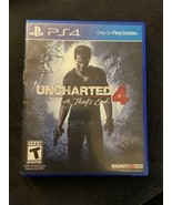 Uncharted 4: A Thief's End -- (Sony Playstation 4, 2016) -- Adventure Ga... - £5.98 GBP