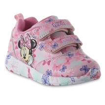 Toddler Light Up Disney Minnie Mouse Sneakers Size 6 7 8 9 10 11 or 12 Bowtique - $22.99