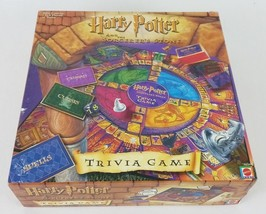 Harry Potter The Sorcerers Stone Trivia Board Game by Mattel 2000 Complete - $24.57